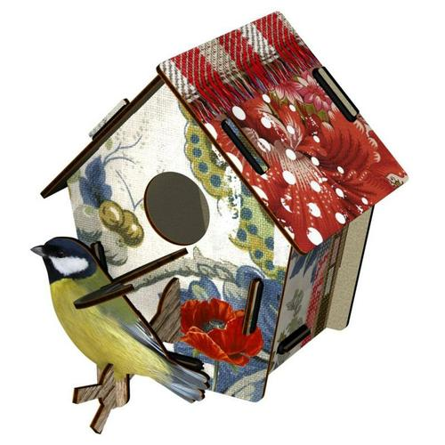 Bird House Small Poppy Seed - BodyFactory