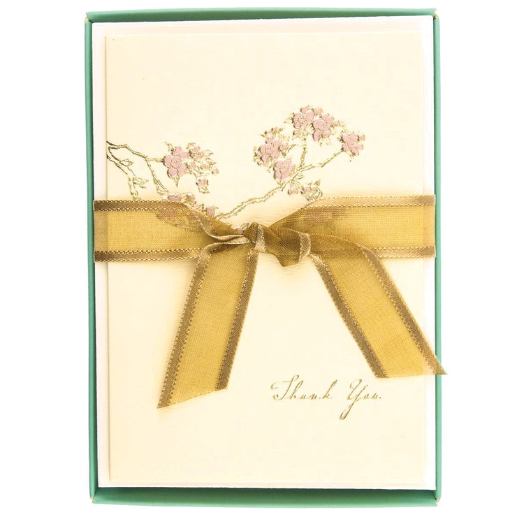 Greeting Card Box Set Cherry Blossom - BodyFactory