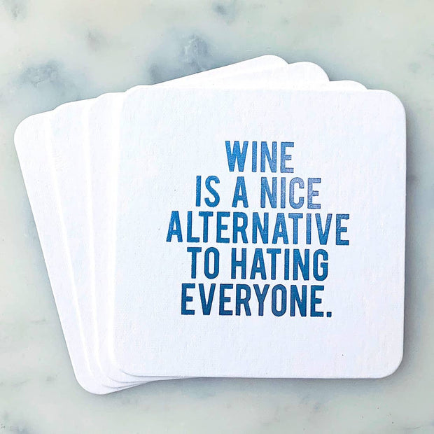 Coaster Wine Is a Nice Alternative - BodyFactory