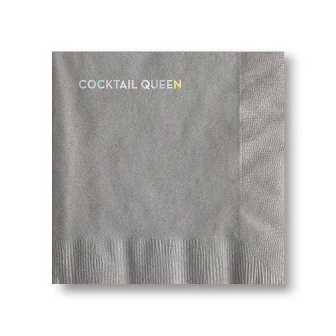 Cocktail Napkins Cocktail Queen - BodyFactory