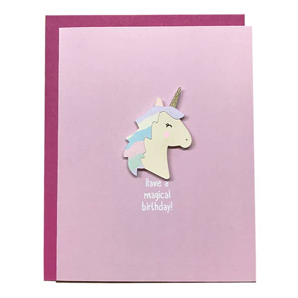 Have A Magical Birthday Card - BodyFactory
