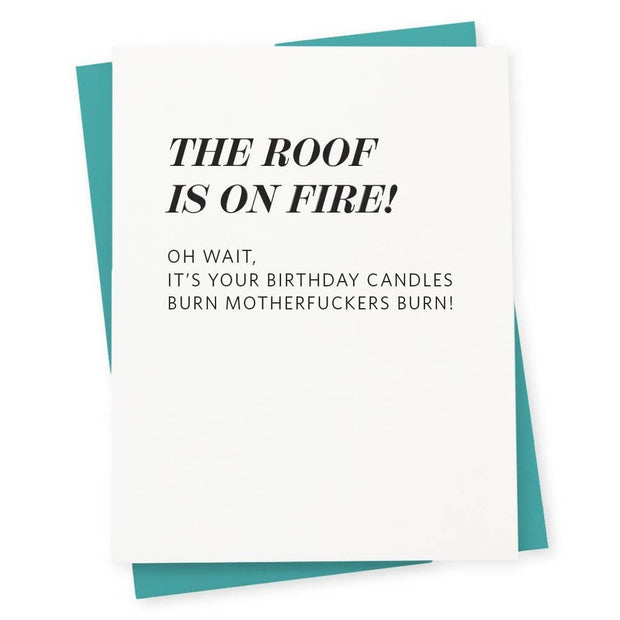 Letterpress Card Roof - BodyFactory