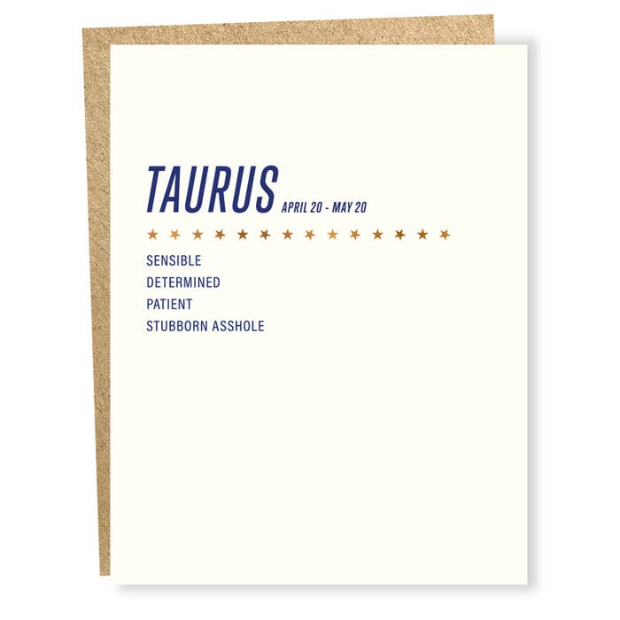 Sign of the Times - Taurus - BodyFactory