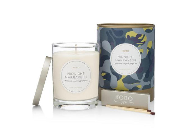Soy Candle Midnight Marrakesh - BodyFactory