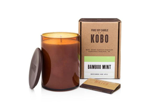 Soy Candle Bamboo Mint - BodyFactory