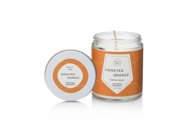 Honeyed Orange Candle - BodyFactory