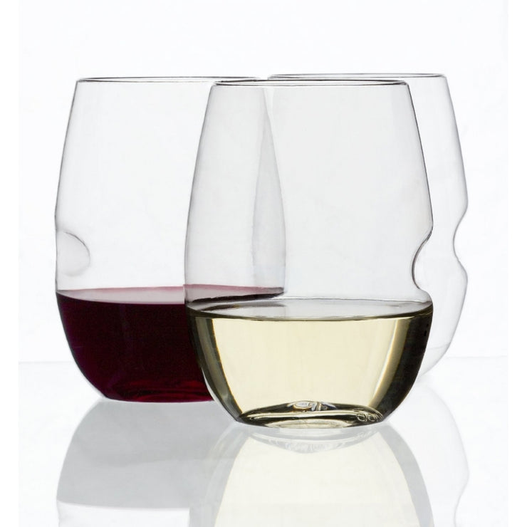 Unbreakable Wine Glass 4 Pack - BodyFactory