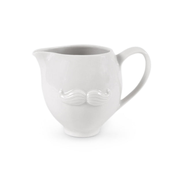 Muse Creamer Glazed Porcelain White - BodyFactory