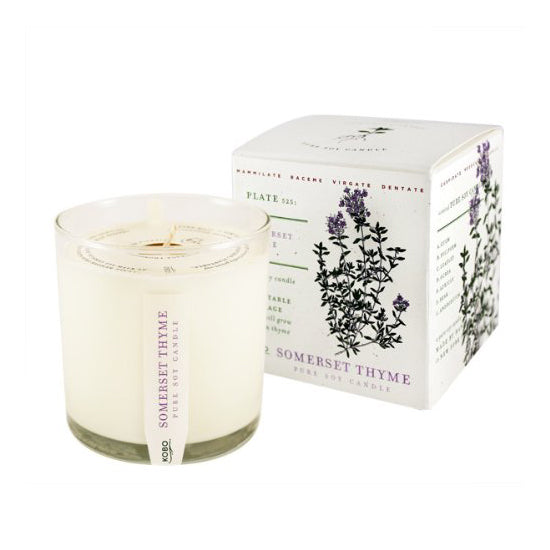 Soy Candle Somerset Thyme - BodyFactory