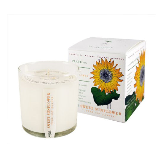 Soy Candle Sweet Sunflower - BodyFactory