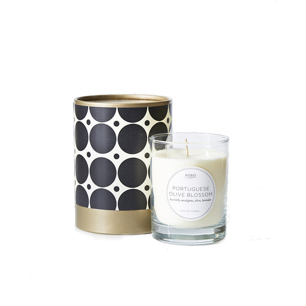 Soy Candle Portuguese Olive - BodyFactory