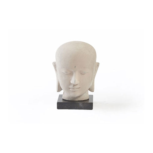 Buddha Head with Marble Base - BodyFactory