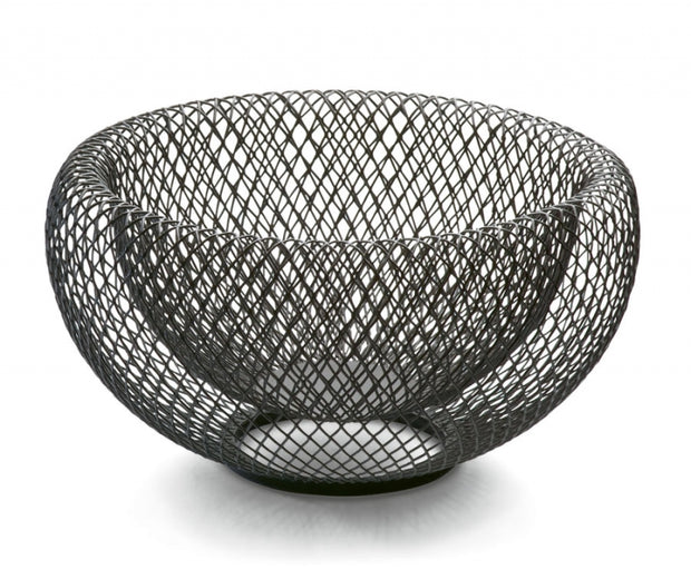 Mesh Bowl Powder-Coated Steel Large - BodyFactory