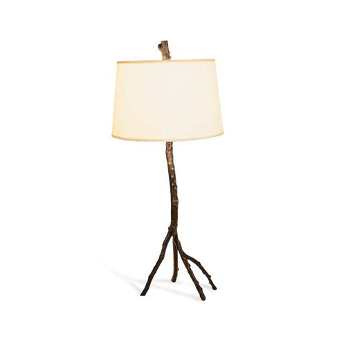 Enchanted Forest Table Lamp Oxidized 34.25 Inches - BodyFactory
