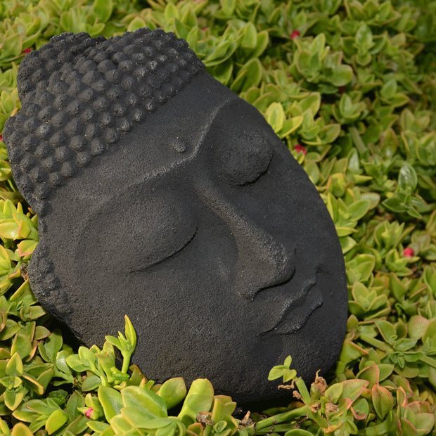 "Buddha Face 10"" Black - BodyFactory"