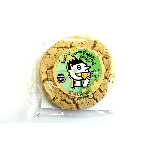 Vegan Cookie Lemon Poppy - BodyFactory