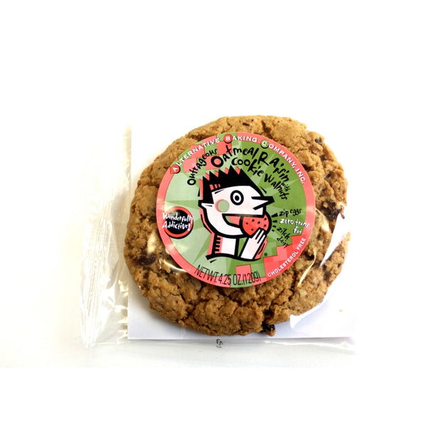 Vegan Cookies Oatmeal Raisin - BodyFactory