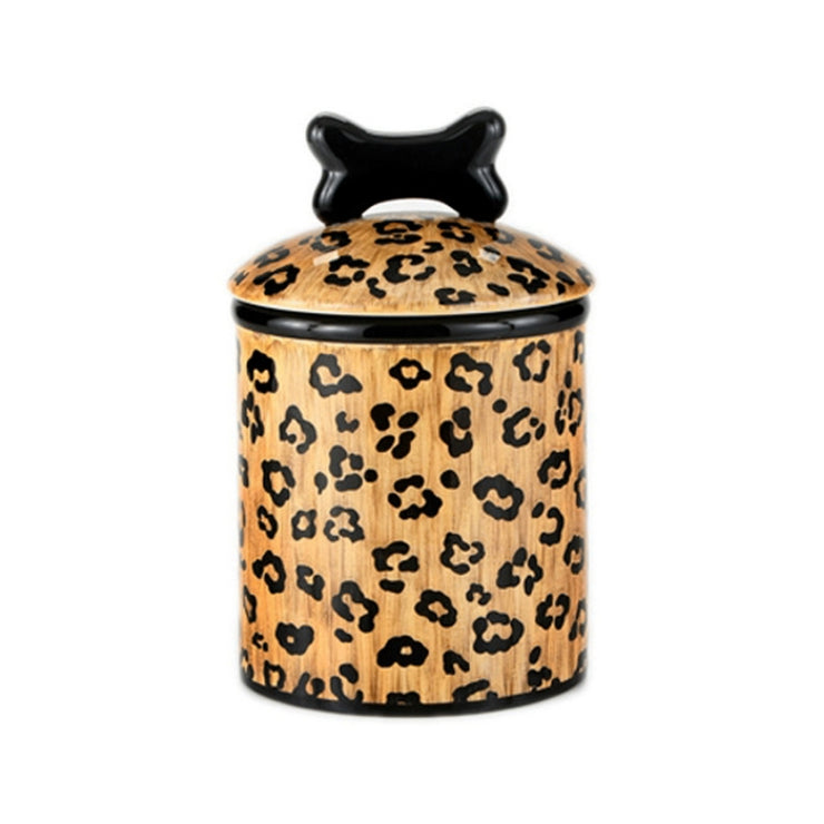 Treat Jar Leopard Medium - BodyFactory