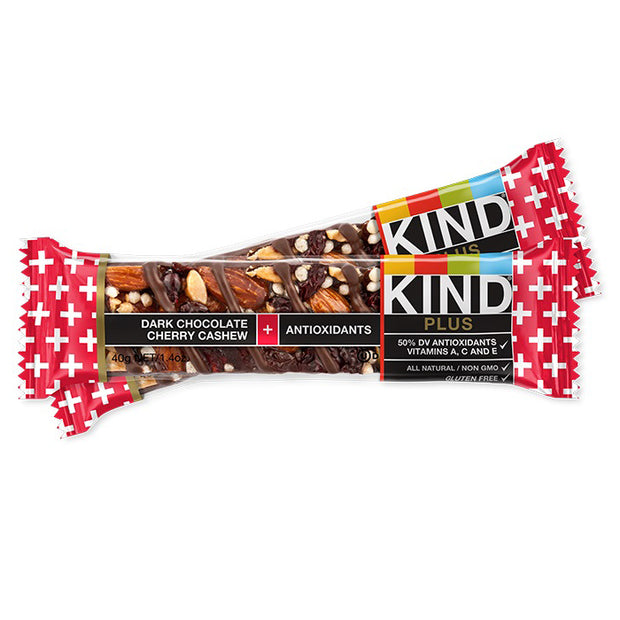 Kind Fruit & Nut Bar Chocolate Cherry Cashew 1.4 Ounces - BodyFactory