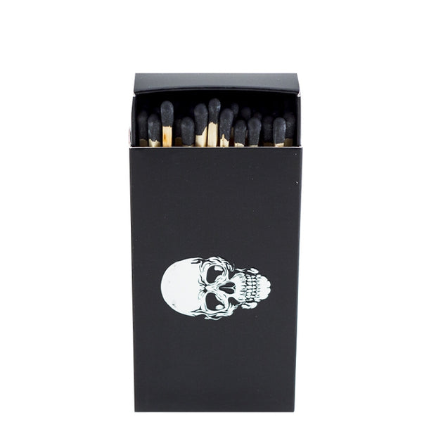 Embossed Matches Black Skull - BodyFactory