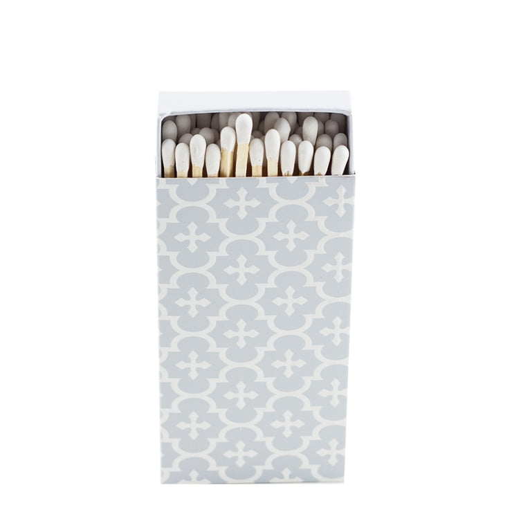 Embossed Matches Moroccan Grey - BodyFactory