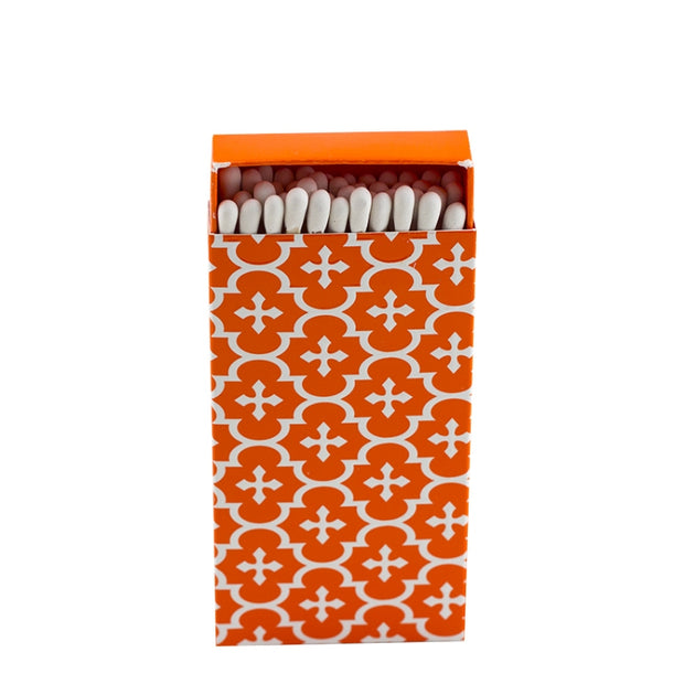 Embossed Matches Moroccan Orange - BodyFactory
