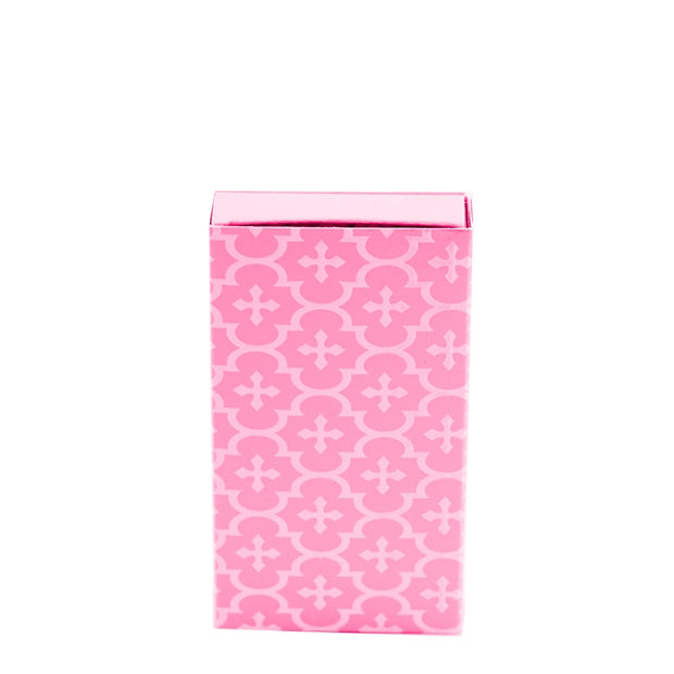 Embossed Matches Moroccan Pink - BodyFactory