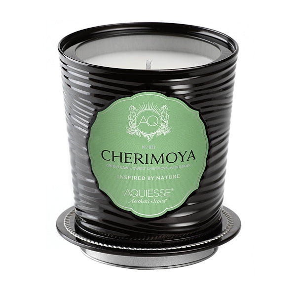 Large Decorative Tin Candle Cherimoya - BodyFactory