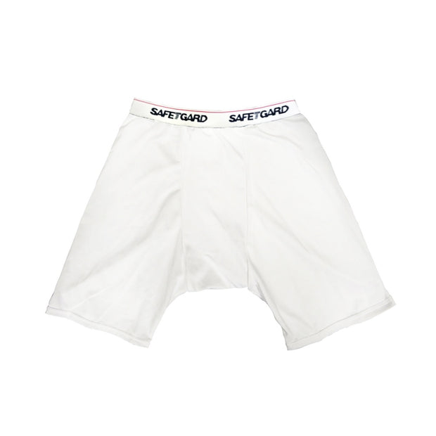 Compression Shorts White Xl - BodyFactory