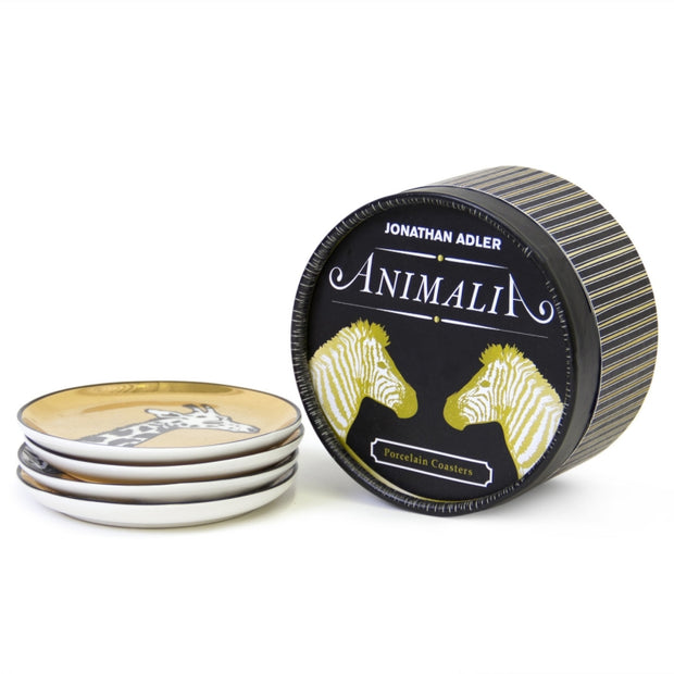 Animalia Coasters Gold - BodyFactory