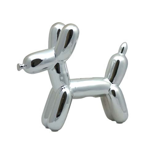 Balloon Doggy Bank Silver - BodyFactory
