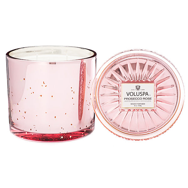 3 Wick Grand Maison Candle Prosecco Rose - BodyFactory