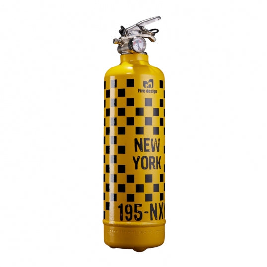Fire Extinguisher NY Taxi Cab - BodyFactory