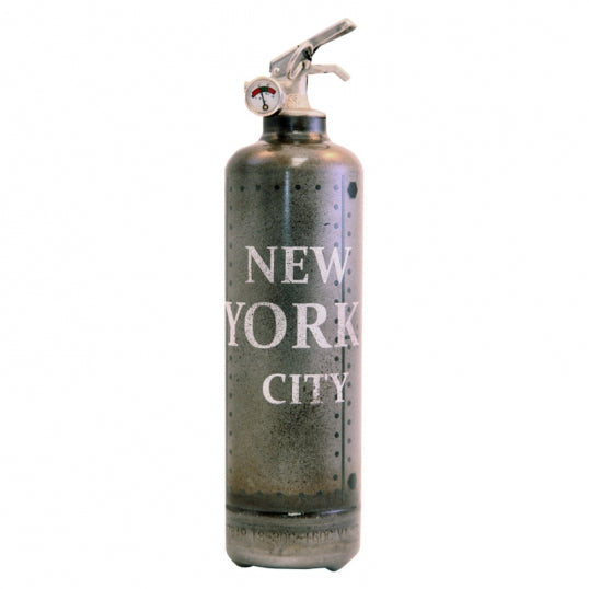 Fire Extinguisher Metal New York City - BodyFactory