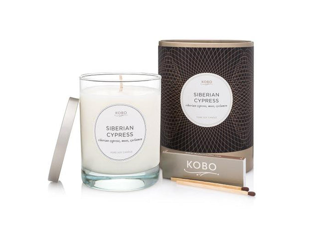 Soy Candle Siberian Cypress - BodyFactory