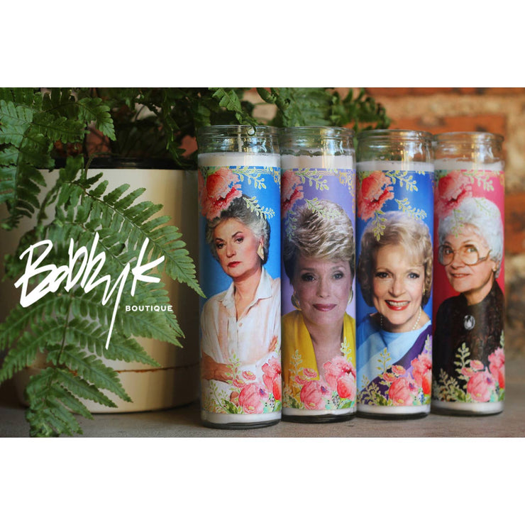 BOBBYK The Golden Girls - Complete Candle Set