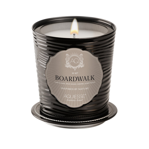 Large Decorative Tin Candle Boardwalk - BodyFactory