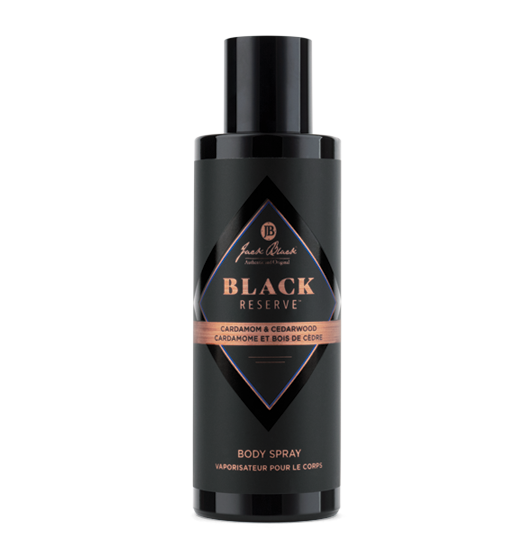 Black Reserve Body Spray - BodyFactory