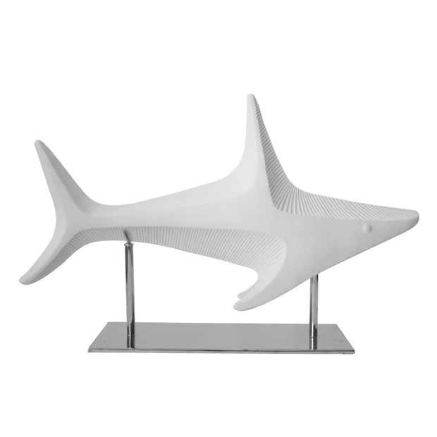Shark Sculpture with Base - BodyFactory
