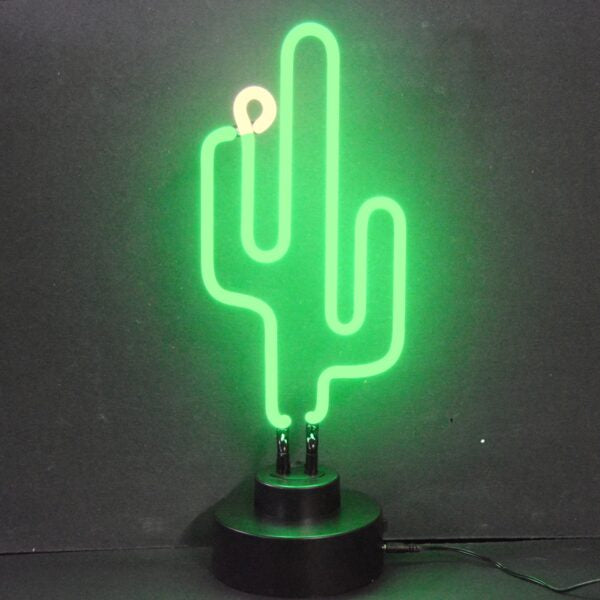 Neon Desk Light Cactus - BodyFactory