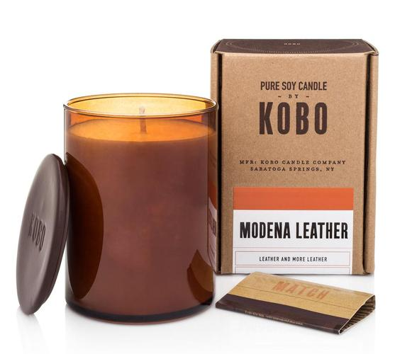 Soy Candle Modena Leather - BodyFactory
