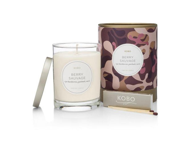 Soy Candle Berry Sauvage - BodyFactory