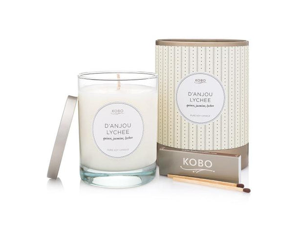 Soy Candle D'Anjou Lychee - BodyFactory