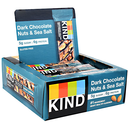 Kind Fruit & Nut Bar Chocolate Sea Salt - BodyFactory