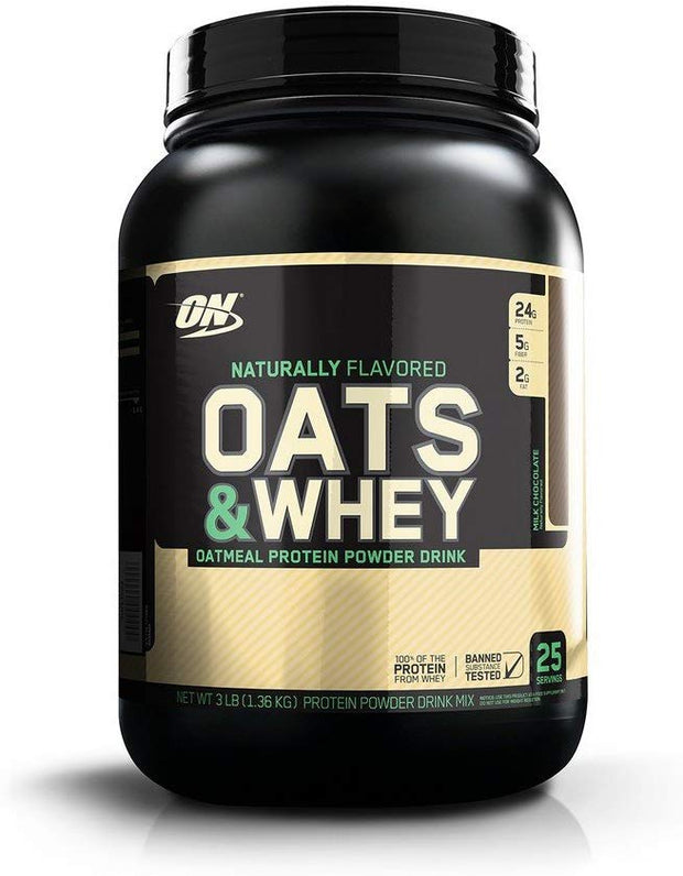 Natural 100% Oats & Whey - BodyFactory