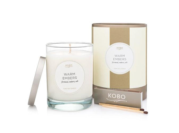 Soy Candle Warm Embers - BodyFactory