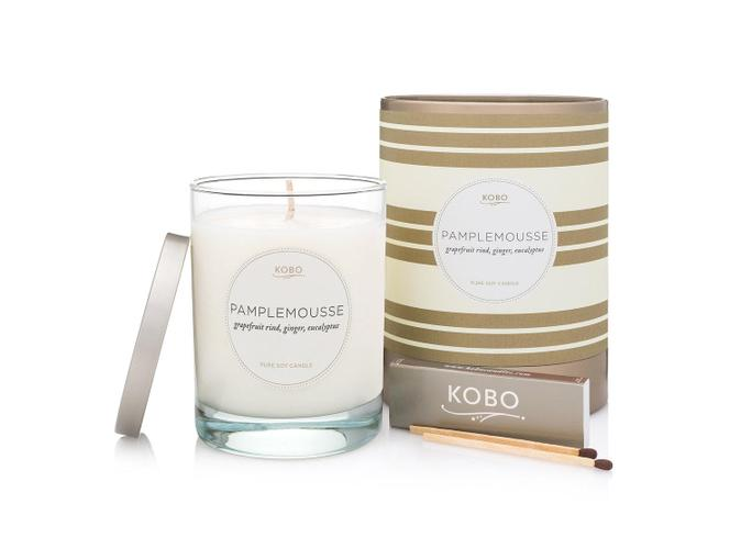Soy Candle Pamplemousse - BodyFactory