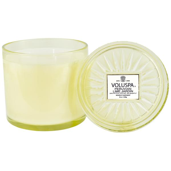 3 Wick Grand Maison Candle Peruvian Lime