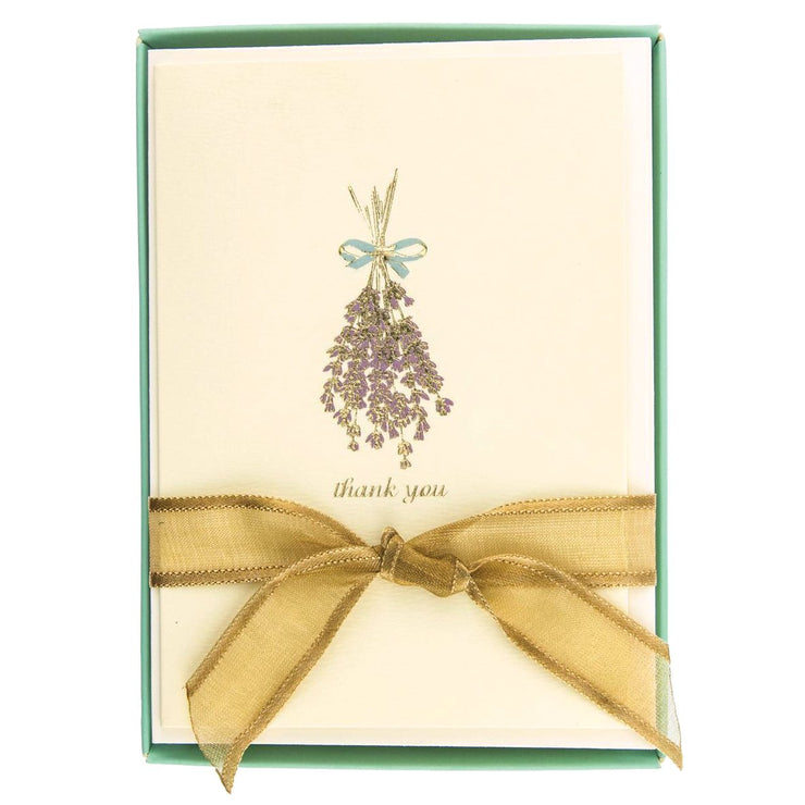 Greeting Card Box Set Lavender - BodyFactory