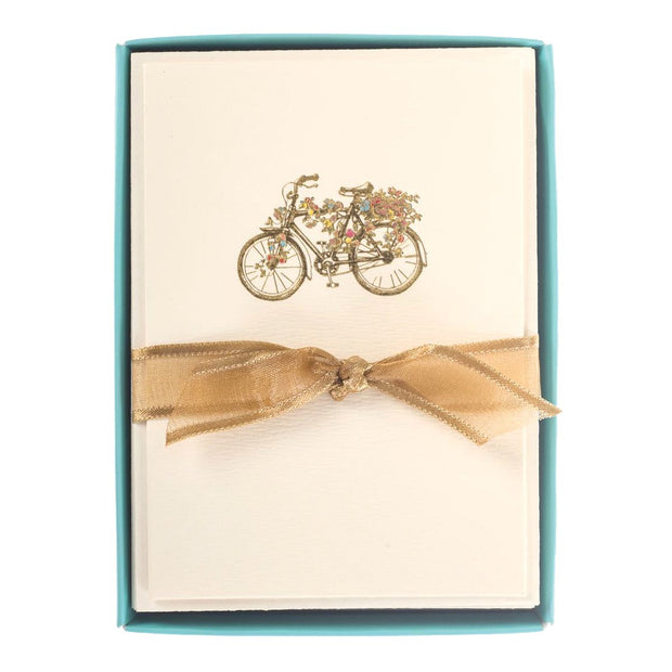 Greeting Card Box Set Flower Bicycle - BodyFactory